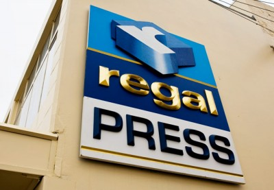 Regal Press Business Sign