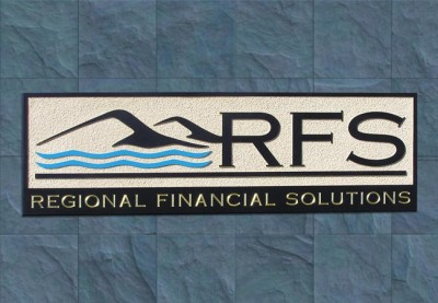 Regional Financial Solutions Business Sign