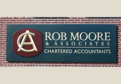 Rob Moore Business Sign