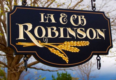 Robinson Property Sign