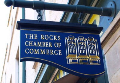 Rocks Chamber of Commerce Business Sign System