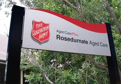 Salvation Army Aged Care Sign System