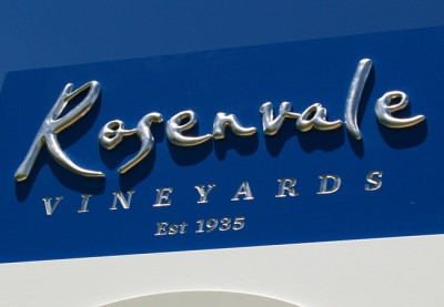 Rosenvale Winery Sign