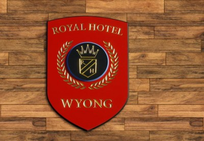 Royal Hotel wyong shield wall sign