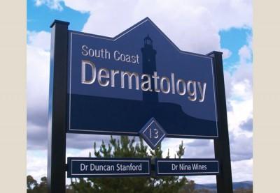 South Coast Dermatology Healthcare Sign