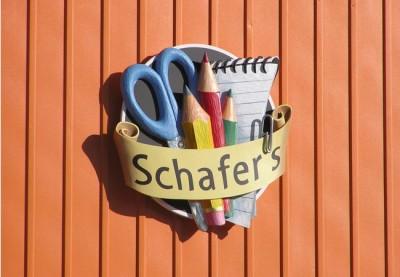 Schafer's Newsagency Business Sign
