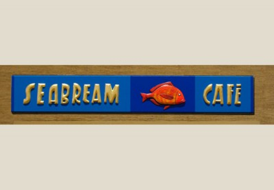 Seabream Cafe Sign