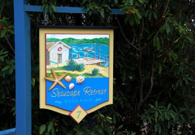 Seascape_retreat_B&B_sign