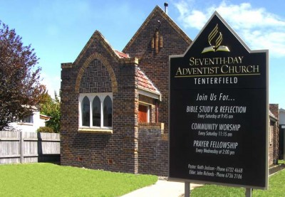 Tenterfield Seventh Day Adventist Church Sign