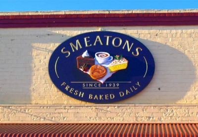 Smeaton's Bakery Cafe Sign System