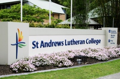 St Andrews Lutheran College signs