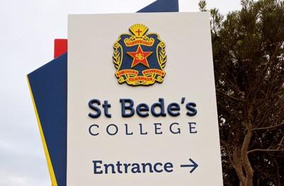 entrance-sign-for-catholic-school-melbourne