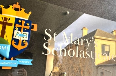 st-marys-scholasticate-building-id-sign