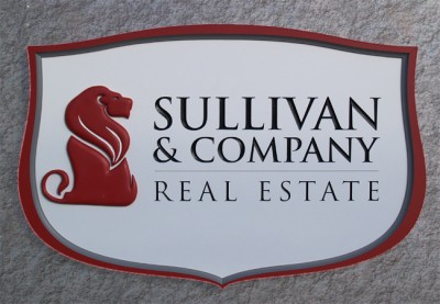 Sullivan & Company Real Estate Business Sign