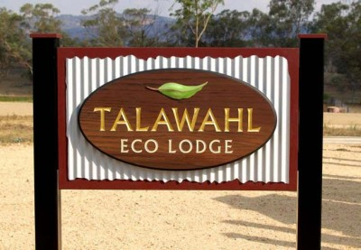 Talawahl Lodge B&B Sign