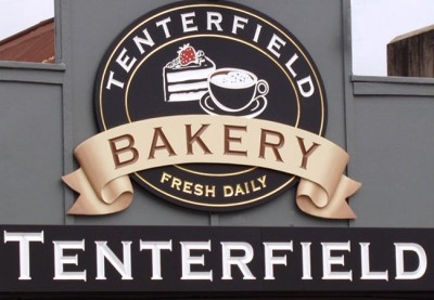 Sign System for Tenterfield Bakery Cafe