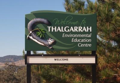 Thalgarrah School Sign