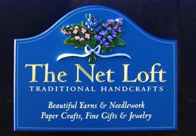 The Net Loft Business Sign