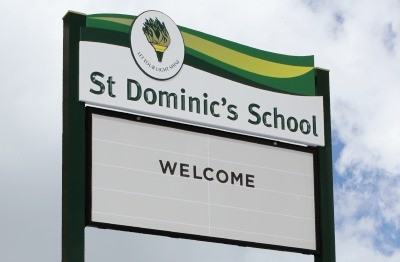 signage-for-st-dominics-school-melbourne