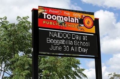 electronic-signage-for-toomelah-public-school