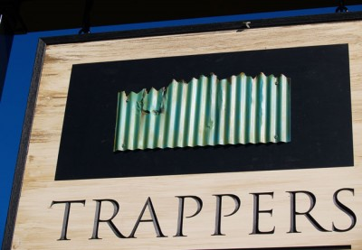Trapper's Gully Winery Sign
