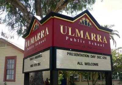Ulmarra Public School Signs