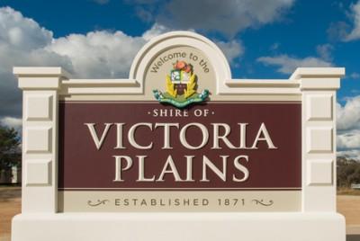 Victoria Plains council boundary signs