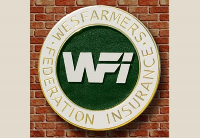 Wesfarmers Insurance Business Sign
