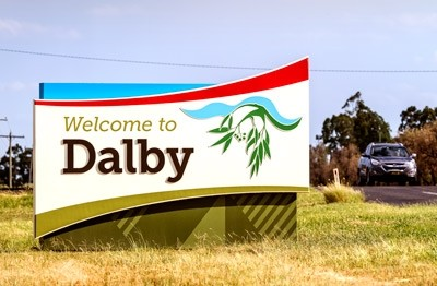western-downs-regional-council-town-entry-signs-australia