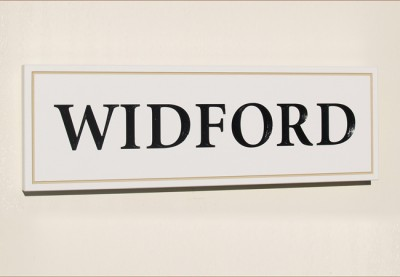 Widford House Sign