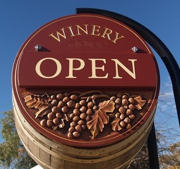 Wright Robertson Winery Sign System