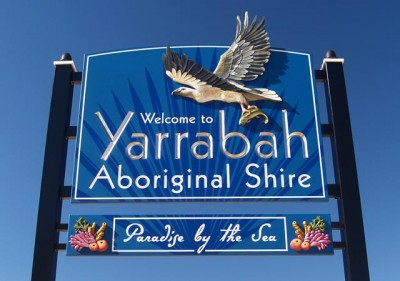 Yarrabah Local Government Sign