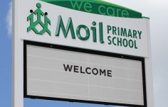 Moil_Primary_School_changeable_sign