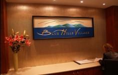 Blue Hills Aged Care Interior Sign