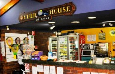 Club House Club Sign main sign