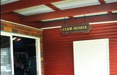 entry sign for the Club House Club