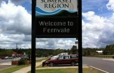 Fernvale led sign