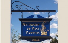 sign for the Fellowship of the First Fleeters