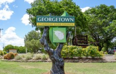 Georgetown welcome signage