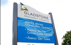 Gladstone_regional_council_directional_sign