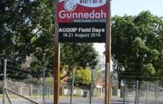 Gunnedah Events Sign