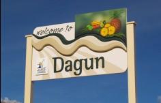 Dagun Entry Sign