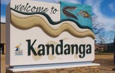 Kandanga Town Entry Sign