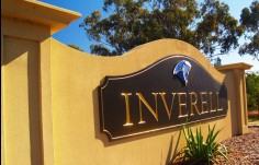 Local Government Inverell Sign