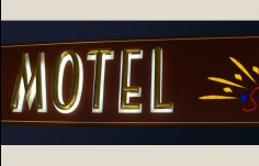 Inverell Motel Sign