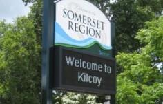 Kilcoy led sign board