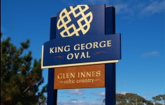 King George Oval Entry Sign