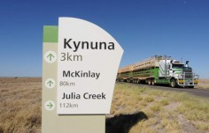 Kynuna welcome sign