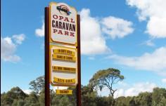 Opal_caravan_park_entry_sign