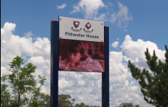 Pittwater House LED Sign